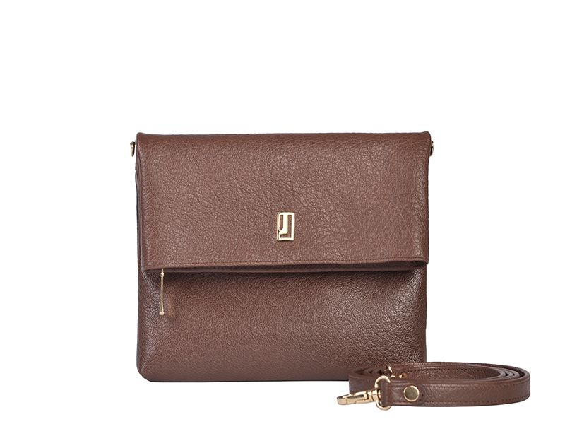 Full Grain Leather Shoulder Bag for Women