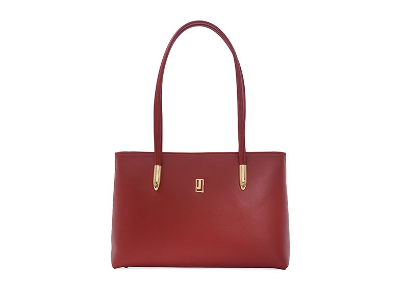 Napa Leather Classic Plain Handbag for Women